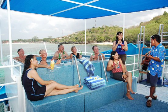 BALI TOURISM DIRECTORY FUN SHIP SUN DECK